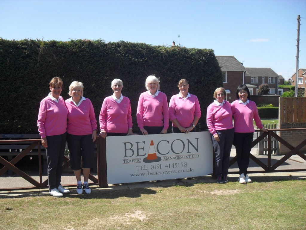 Our Lovely Ladies and their sponsor Beacon
